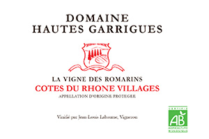 Domaine Hautes Garrigues